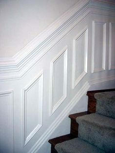 layout and measurements of chair rail, wainscoting and shadow box molding