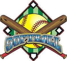 Clip Art Clipart Softball free softball clipart images pinterest heart art fastpitch clip sbbgc girls softball