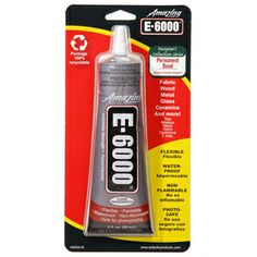 E-6000® Industrial Strength Self-Leveling Adhesive#ShopletSchool