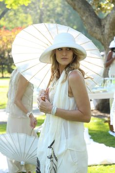 Summer Whites Lawn Party- Gatsby Style in Beverly Hills