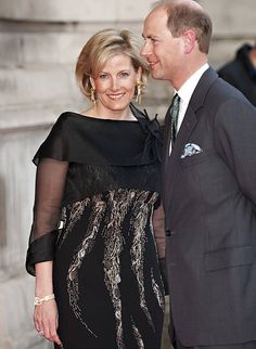 Sophie Countess Of Wessex And Prince Edward Attend A Private View Of ' Grace Kelly: Style Icon' At The Victoria & Albert Museum