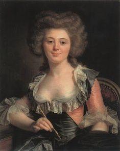 Self portrait of Adélaïde Labille-Guiard )
