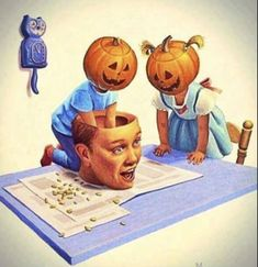 🎃it's always Halloween inside my head 🎃 Retro Halloween, Halloween Images, Halloween Horror, Halloween Town, Holidays Halloween, Halloween Crafts, Happy Halloween, Halloween Decorations, Halloween Halloween