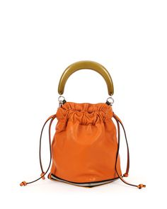 V2FH8 Marni Small Expandable Zip Satchel Bag