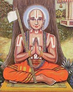 Ramanujacharya-http://holydham.com/the-devotion-of-a-muslim-princess-deity-of-ramapriyabibi-nachiyar/