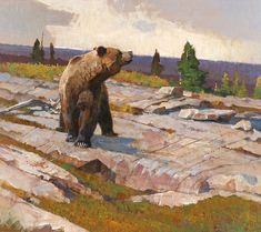 Bob Kuhn   Jackson Hole Art Auction: North Country
