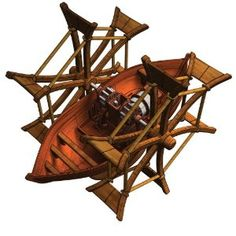 leonardo da vinci's paddle boat model