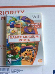Namco Museum Remix (Nintendo Wii, 2007)