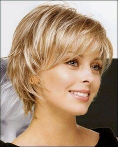Short hair for a round faceShort hair for a round face - - for face hair short roundNagelDesign Elegant (Coupe cheveux femme 50 an .) cheveux coupe elegant f . Short Shag Hairstyles, Layered Haircuts, Short Hairstyles For Women, Short Haircuts, Layered Hairstyle, Woman Hairstyles, Hairstyle Short, Medium Hairstyles, Trendy Hairstyles