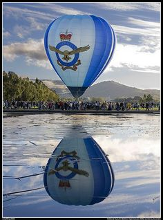 Canberra Balloon Fiesta / Canberra Festival Balloon Spectacular Reflections at the National Autumn Balloon Spectacular 2008, Canberra, Australia.