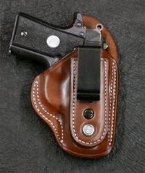 Tuckable IWB for Colt Mustang .380 RH