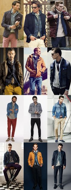 Men's Denim Jacket Lookbook - Experimenting With Ways To Wear