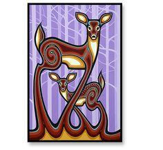 Peek-a-Boo - Mark Kulas painting 086 Aboriginal Language, Aboriginal Art, Native American Fashion, Native American Art, Different Forms Of Art, Indigenous Art, Pottery Painting, Native Art, Art Forms
