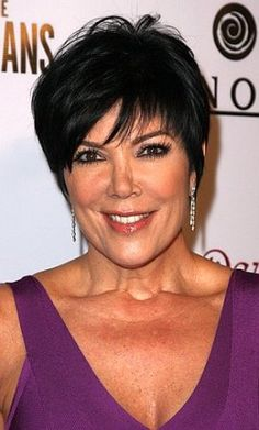 picture of kris jenner's haircut | Kris Jenner Hairstyle Pictures