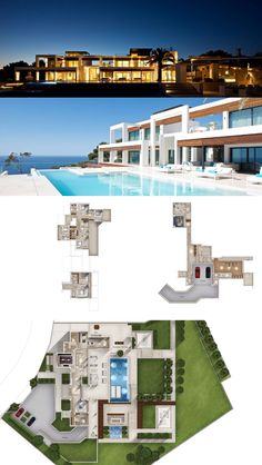 Minimalist Villa - Mallorca, outstanding swimming pool, luxurious minimalist interior design , modern design