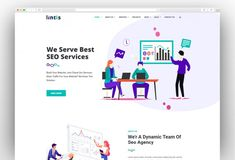 Buy Lintis- SEO and Digital Agency WordPress Theme by zozothemes on ThemeForest. Lintis is one of the most effective marketing and SEO WordPress themes which is clean and fast loading.