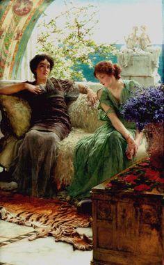 Sir Lawrence Alma-Tadema (1836 -1912).