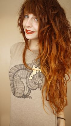 Miss my hair like this.  Nadia Esra