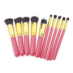 10 pcs Cosmetic Brush Set Makeup Brush