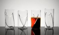 Dual Beer Glass, Set of 4 #gift