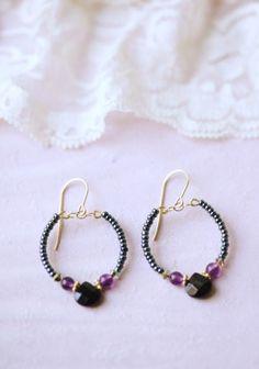 long walks indie beaded earrings