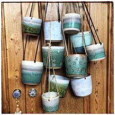 On the eleventh day of Christmas my true love sent to me 11 planters hanging.