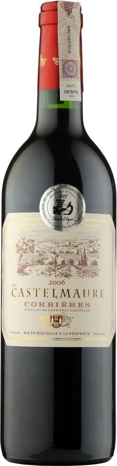 Castelmaure Corbieres A.O.C. Wino o aromatach stepu, oleiste, długie w ustach, doskonale zrównoważone. #Winezja #Langwedocja #Corbieres #Wino Saint Chinian, Drinks, Bottle, Anonymous, Beverages, Flask, Drink, Jars, Beverage