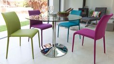 Colourful Kitchen Chairs | Bright Painted Wood Only £45 | UK