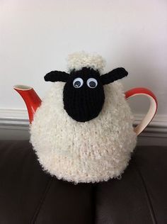 Hand Knitted Shaun the Sheep Tea Cosy