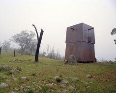 mini haus kupfer fassade Casey Brown Architecture