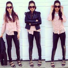 leathaa love #leather #lotd #ootd