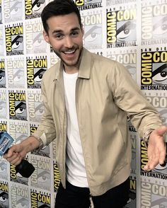 Chris Wood at San Diego Comic-Con's International: 'Supergirl' Presentation —07/22/2017
