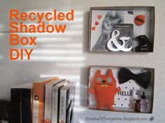 Shadow Box DIY ~ another way to reuse #Birchbox packaging