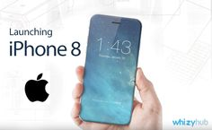 Forget about iPhone 7, iPhone 8 is coming #iphone #iphone8 #apple #latest  Details: http://whizzyhub.com/apple-iphone-8-launching-in-september…/