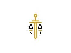 National Justice by Danijel Stamenic #law #logo #justice #sword
