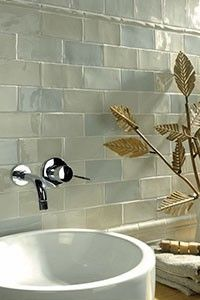 this fantastic warm hued crackled metro tile mix tile will add unique beauty and vintage ambiance to any bathrooma mix of 4 different crackled metro tiles