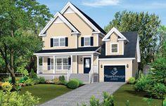 © Planimage. Plan de maison à étage - Pour voir le plan associé, cliquez sur l'image