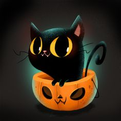 Halloween drawings! on Behance