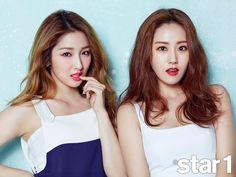 Gayoon And Jihyun
