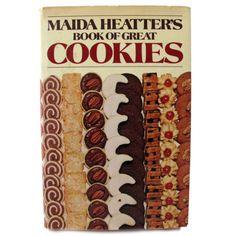 MAIDA HEATTERS BOOK OF GREAT COOKIES COOKBOOK