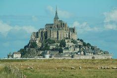 Abbaye du Mont-Saint-Michel (Mont-St-Michel, France)
