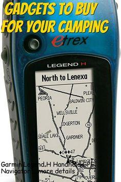 (This is an affiliate pin) Garmin Legend H Handheld GPS Navigator