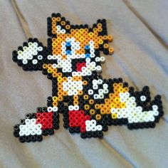 Tails perler beads by supervtec