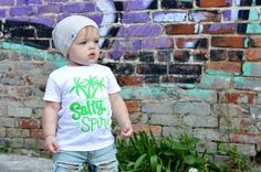 salty spirit, kids summer clothes, summertime shirt, top, salty vibes – Our 5 Loves