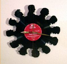 Amazing Hand-Made Record Clocks!