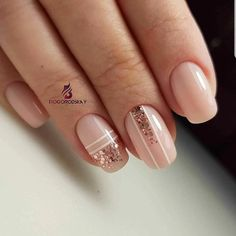 Just Nails # Nagellack # Gel Nails # Miniatyrdesign # Nail Design # Pretty Nails & Elegant Nails, Classy Nails, Stylish Nails, Trendy Nails, Nude Nails, Pink Nails, My Nails, Perfect Nails, Gorgeous Nails