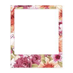 Marco Polaroid, Polaroid Frame Png, Polaroid Template, Frame Template, Templates, Note Doodles, Kawaii Doodles, Pastel Background, Instagram Frame