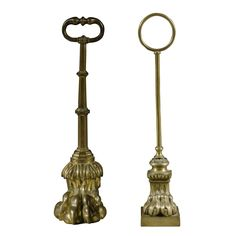 A Regency gilt-lacquered brass doorstop Circa 1820 Estimate  600 — 800 GBP LOT SOLD. 10,000 GBP  !!! I don't normally leave the Estimated value on...  but in this case  Yes! A.W.