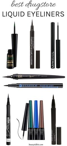 From creating the perfect cat-eye to drawing a crisp line, these best drugstore liquid eyeliners will make acing your liner game easy!