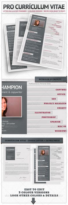 Resume Design Pro Currículum Vitae
